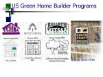us green home builder programs