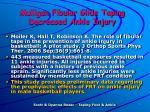 mulligan fibular glide taping decreased ankle injury