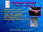 posterior tibialis kinesio technique