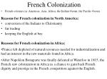 french colonization