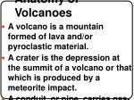 anatomy of volcanoes
