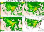 48 72 hr qpf comparison