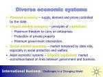 diverse economic systems