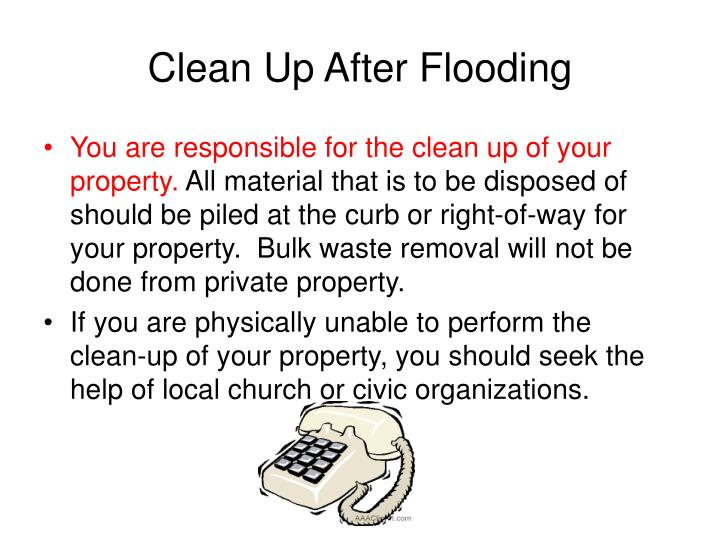 Clean Up After Flooding