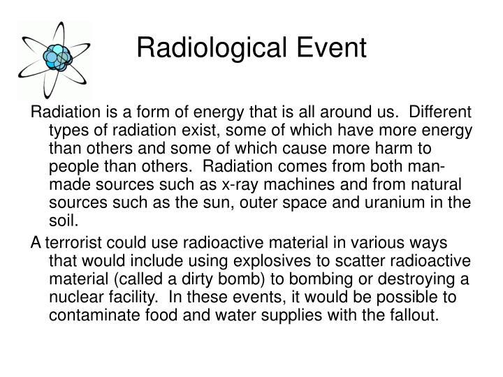 Radiological Event