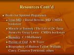 resources cont d3