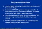 programme objectives1