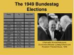 the 1949 bundestag elections