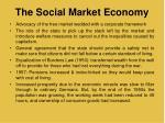 the social market economy