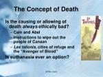 the concept of death