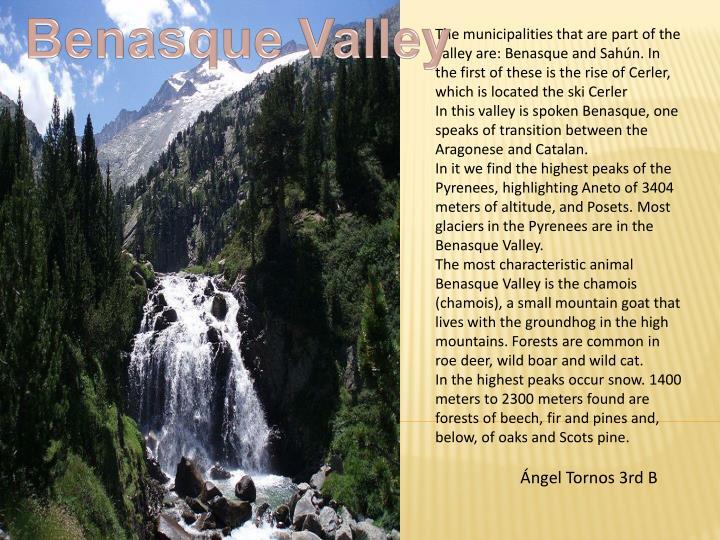 Benasque Valley