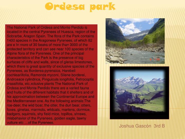 Ordesa park