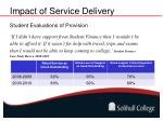 impact of service delivery2