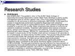 research studies1