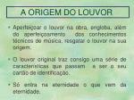 a origem do louvor
