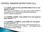 control transfer instructions cont3