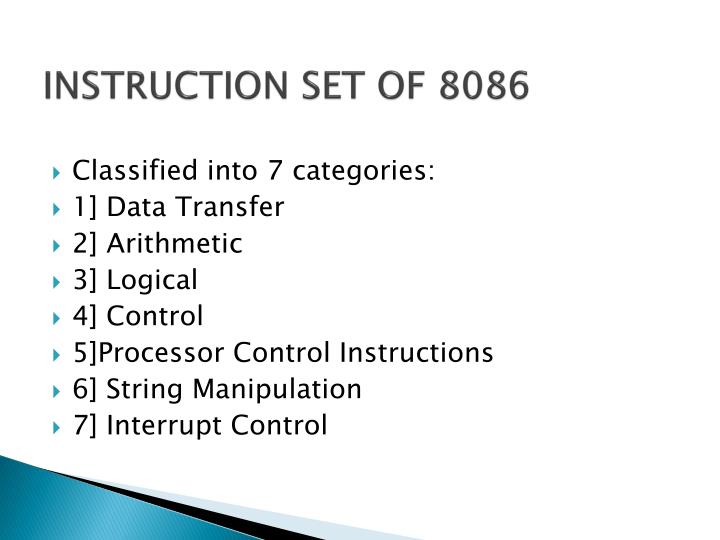 Ppt Intel 8086 Architecture Programming Powerpoint Presentation