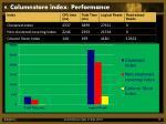 9 columnstore index performance