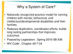 why a system of care