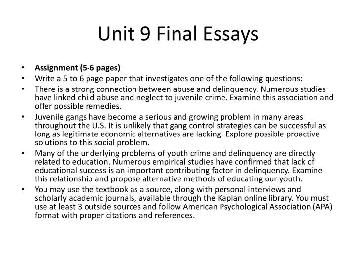review of juvenile crime study source essay You can order a custom essay, term paper, research paper, thesis or dissertation on crime and criminology topics at our professional custom essay writing service which provides students with custom research papers written by highly qualified academic writers high quality and no plagiarism guarantee.