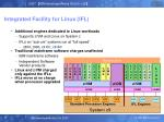 integrated facility for linux ifl