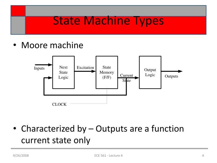State Machine Types