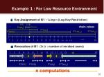 example 1 for low resource environment2