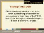 strategies that work1