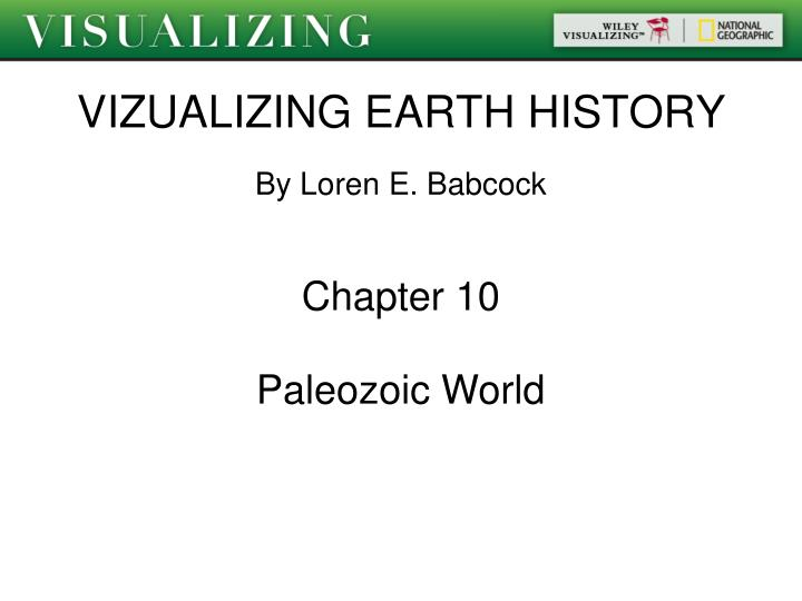 vizualizing earth history n.
