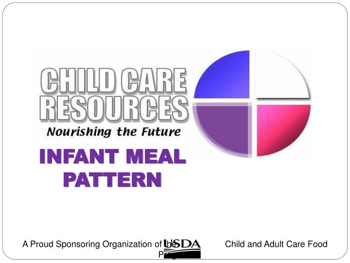Infant Meal Pattern