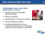 when and how to wash your hands1