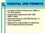 coastal use permits
