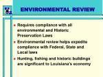 environmental review