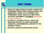 hot items