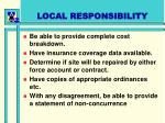 local responsibility1