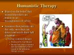 humanistic therapy