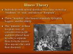illness theory