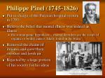 philippe pinel 1745 1826
