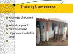 training awareness