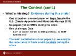 the context cont1