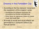 dreams in the forbidden city1