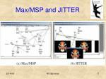 max msp and jitter1