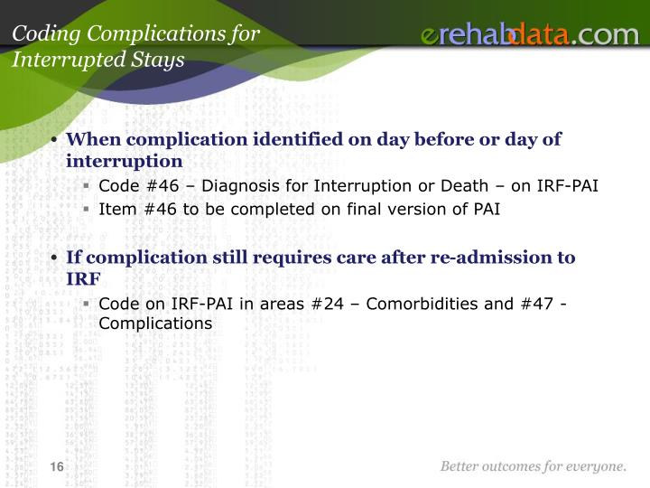 Coding Complications for