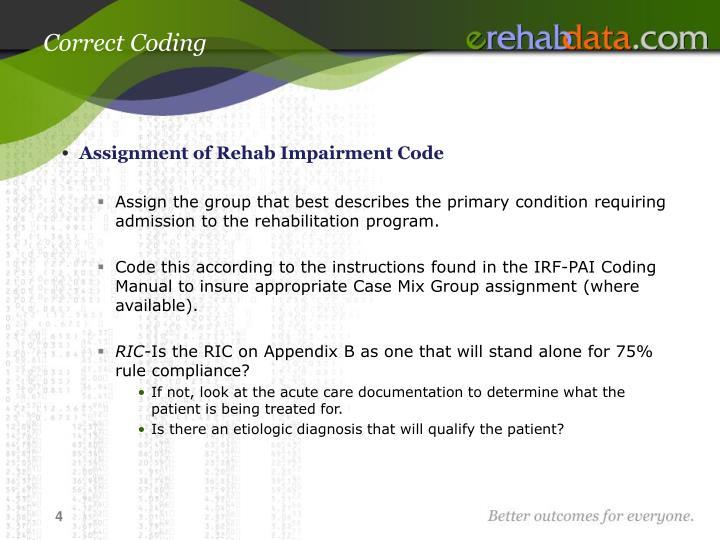 Correct Coding