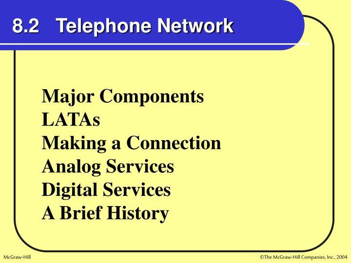 8.2   Telephone Network