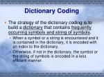 dictionary coding3