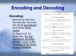 encoding and decoding1