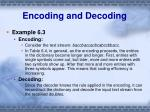 encoding and decoding2