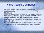 performance comparison1