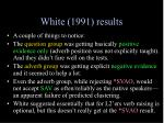 white 1991 results1